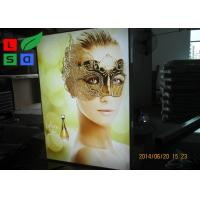 Single Sided Fabric LED Display Box Backlit Lighting For Retail Store Wall Display
