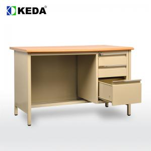 China 600mm Depth 750mm height Office Table Desk on sale