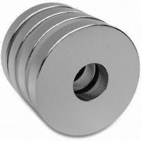 Quality Permanent Magnet, Made of NdFeB with Ni Coating, Available in Various Shapes and Materials for sale