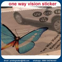 Buy cheap Double-sided Two Way Vision Vinyl Window Sticker from wholesalers