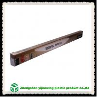 China Plastic packaging hard fishing rod tube container on sale
