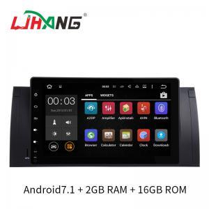 Quality BT Audio Dvd Player Auto Bmw , Rear Camera Bmw E53 Dvd Player 2GB DDR3 RAM for sale