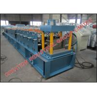 Quality Hot Dipped Galvanised Steel Purlin Roll Forming Machine 15m/min for sale