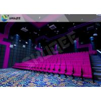 Quality SV Cinema 3D Sound Vibration Movie Theater Seats With Special Effect Machine for sale