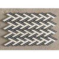 Quality 340x300mm Marble Mosaic Tileand mosaic 280x320mm / mosic marble tile for sale