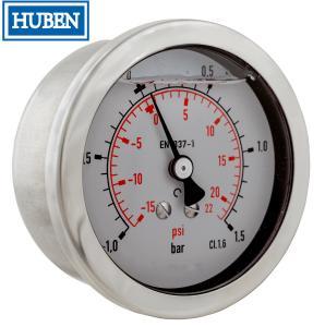 Quality Liquid Filled Pressure Gauge - 0-40 bar - Bottom mount for sale