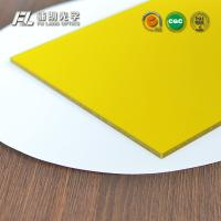 Iridescent Hard Coated Acrylic Sheet 7mm Thick 1.2g/M3 Density , High Light Transmittance