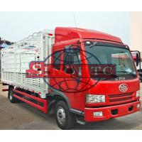 Quality 4 X 2 Cargo Transport Truck With High Sidewall 15 Tons Max Loading for sale