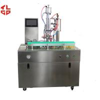 China Semi Auo R134a Refrigerant Filling Machine , R12 Freon Spray Can Filling Machine on sale
