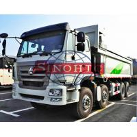 Quality 40 - 50 Ton Dump Truck Strong MAN Engine 4 Axle 340HP Engine Power for sale