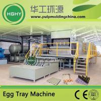 Buy cheap pulp molding machine for egg tray fruit tray egg carton cup tray cup holder from wholesalers