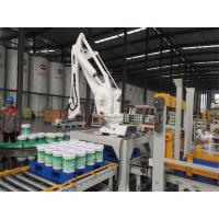 Quality Compact Footprint Robotic Palletizing System 9KW Power Durable For Pails for sale