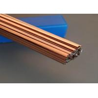 Quality Flat Bar 0 Silver Copper Brazing Rod 1.3mm * 3.2mm * 500mm Size No Flux for sale