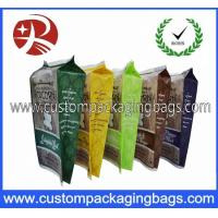 Quality Waterproof Printing Stand Up Plastic Food Packaging Bags / Branded Popcorn Bags for sale