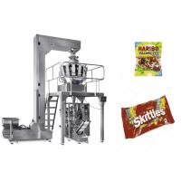 Quality Automatic Candy Gummy Bear Packaging Machine Fast Speed PLC Control for sale