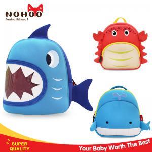 Quality 3D Cartoon Blue Shark Backpacks For Kids OEM / ODM Available NH024 for sale
