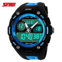 Quality Men Analog Digital Wrist Watch , Dual Time Zone Watch OEM ODM for sale