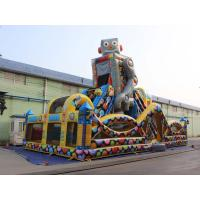 Quality Robot Outdoor Inflatable Playground For kids for sale