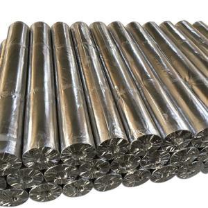 Lightweight Aluminized Fiberglass Fabric Cloth AL7628 Good Chemical Resistance