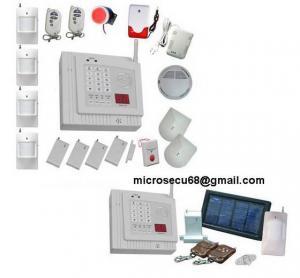 China Wireless Security Alarm System|auto Alarm|intrusion Alarm|intruder Alarm|home Alarm|GSM Alarm|mms Alarm|camera Alarm|safe Alarm|solar Alarm on sale