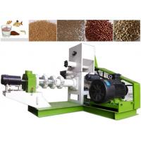 Quality Dog Cat Fish Feed Processing Line Floating Type Fish Feed Extruder Machine for sale