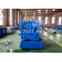 Buy cheap Automatic Change Size CU 800-300 Steel Frame Purlin Roll Forming Machine 18.5kw from wholesalers