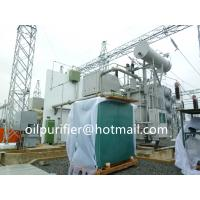 Quality Double Stage Vacuum Transformer Oil Filtration Plant,Insulation Oil Purifier Machine Project in Vietnam for sale