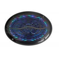 Quality RGB led 2 way stereo Waterproof Coaxial Marine Audio Speakers with remote controller for yacht for sale