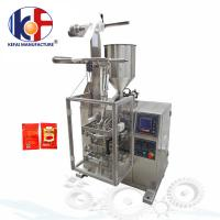 Quality Manufacturing automatic tomato paste sachet packing machine price ketchup packing machine for sale