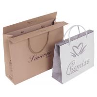 Quality custom paper shopping bag for gift for sale