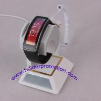 alarm watch display support with gripper locking