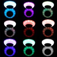 MP3 Music E27 LED Bulb 6W RGB Wireless Bluetooth Speaker Projector stage Lamp Remote Control Version ballroom lamps