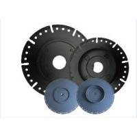 Quality 7 Diamond Circular Saw Blade With Flange , Wet / Dry Cut Stone Cutting Saw Blades for sale