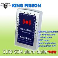 Quality GSM SMS house Alarm System and gsm alarm dialer- ultra version S160 for sale