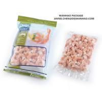 Custom printed Seafood shrimp Vacuum Packaging bag for Frozen Storage for sale