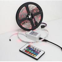Quality 5M RGB LED Strip Light Waterproof SMD 3528 IP65 300 Led DC 12V +Remote Controller + 2A Power Adapter LED Tape for sale