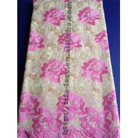 China Indian Lace Embroidery Lace Fabric on sale