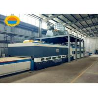 Quality Window Flat Glass Tempering Furnace With Convection Can 4 - 16mm Glass Thickness for sale