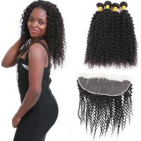 China Thick Healthy Peruvian Human Hair Extensions / Unprocessed Peruvian Hair Bundles on sale