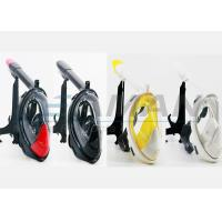 Quality new updated  fashion look 180 degree full face snorkel mask  with Gopro mount for sale