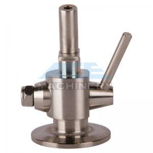 Quality Stainless Steel Material Aspetic Sample Valve SS316L Sanitary Sampling Cock Sample Valve for sale