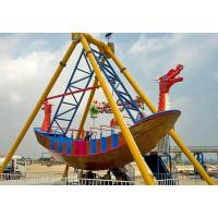 2000W Pirate Ship Ride Upside Down 360 Looping Pirate Ship For Theme Park