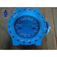 Quality Eccentric Double Flanged Ductile Cast Iron Butterfly Valve Standard AWWA DIN JS for sale