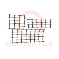 Quality Sub Grade / Base Reinforcement PP Biaxial Geogrid Black Color High Strength for sale