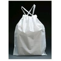 China HDPE Black Garbage bags with drawstring on sale
