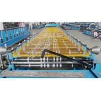 11KW Trapezoidal Roof Panel Roll Forming Machine Roof Tile Making Equipment
