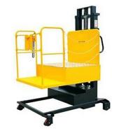 Quality 4.0 Ton Full-Electric Aerial Order Picker Stacker for sale
