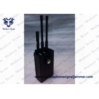 Quality Portable RF Remote Control Jammer 315 / 433 / 868MHz Two Power Adapters for sale