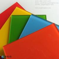 Quality Excellence quality different colored Lacquered Glass for sale
