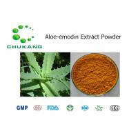 Quality Nature Botanical Powder / Aloe Emodin Extract Cas 481 72 1 Promote Blood Circulation for sale